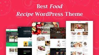 Food Recipes Wordpress Theme Review & Demo   WordPress Theme   Food Recipes Price & How to Install