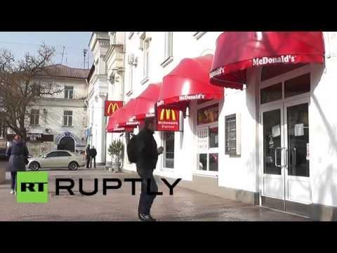 Russia: Sevastopol remains McDonald's free