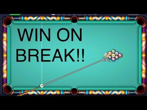 how to win 9 ball pool on break