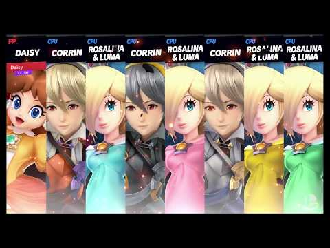 Super Smash Bros Ultimate Amiibo Fights   Request #3981 Daisy vs Rosalinas and Corrins