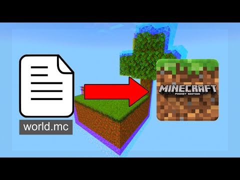 How To Install Worlds On Minecraft PE -easy- (working 2019) -How To Get Mcpe Maps Free-