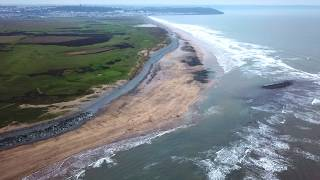 DJI Mavic Pro Westward Ho North Devon January 2019