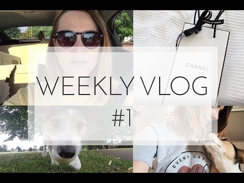 WEEKLY VLOG #1 New House, Robot Dancing, Chanel Shopping and Doggies.