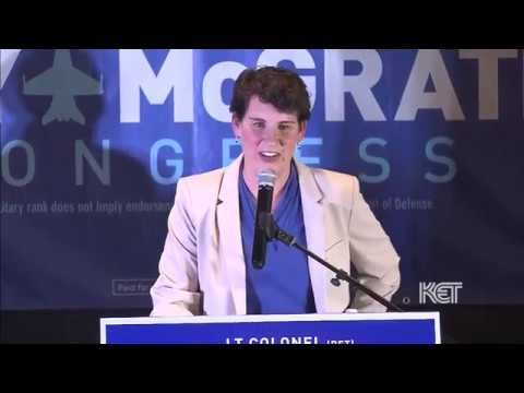 Amy McGrath Victory Speech | 2018 Primary Election | KET