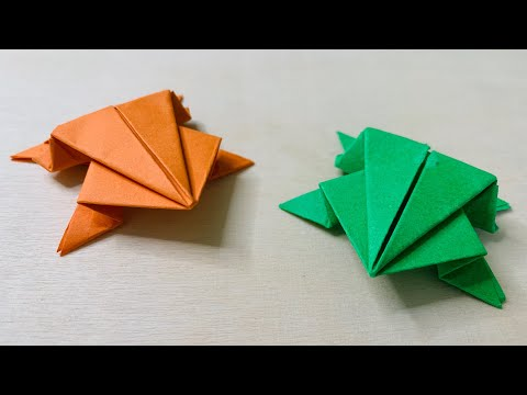 frog-|-how-to-make-jumping-frog-|-easy-for-kids-|-origami-#2