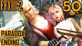 Final Fantasy XIII-2 Walkthrough Part 50 - Paradox Ending 1 - The Future Is Hope