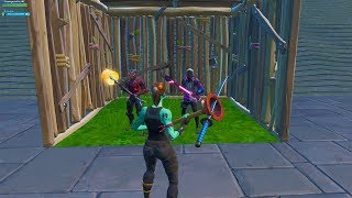Toxic They make fun of me for being noob without skin and I take out the Ghoul Trooper - Fortnite