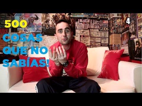500 cosas que NO SABÍAS de Borja Pérez
