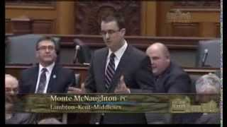 MPP McNaughton Questions on Ontario