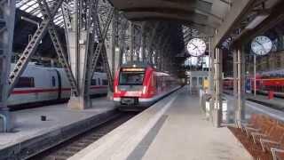 Rhein-Main S-Bahn (S7) in Frankfurt (Main) Hauptbahnhof