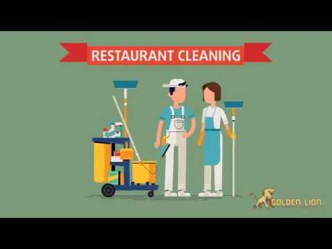 Restaurant Cleaning | Golden Lion Cleaning Services