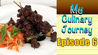 My Culinary Journey Episode 6 | Marinated Chicken Skewers With Pickled Vegetables