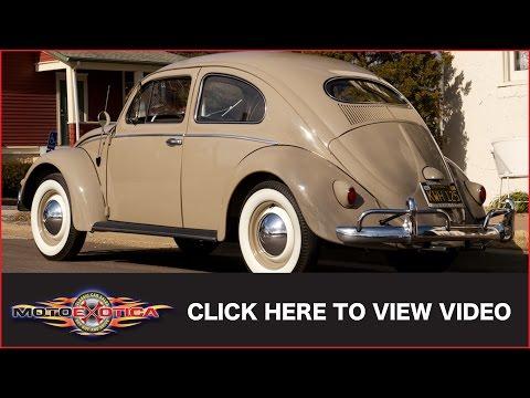 1956 Volkswagen Beetle Oval Window (SOLD)