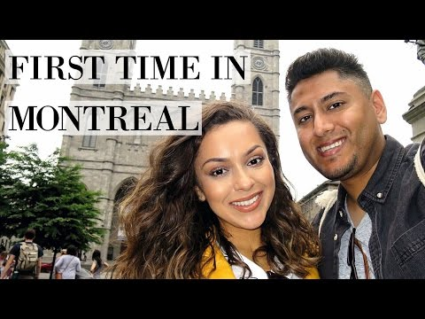 First Time In Montreal! | Montreal Vlog Part 1 - LifeWithTrina
