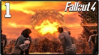 Fallout 4 Lets Play #1 - THE INTRO! (Survival Mode) [Spoiler Friendly + Giveaway]