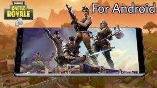 How to download fortnite game for Android || L.k videos