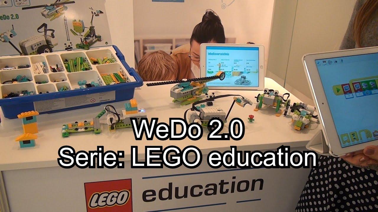 Lego Wedo 20 Von Lego Education Spaß Mit Lego In Der Schule Youtube