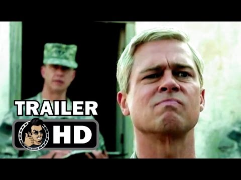 WAR MACHINE Official Trailer #3 (2017) Brad Pitt Comedy Movie HD