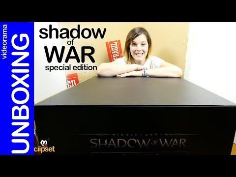 Tierra Media Sombras De Guerra Unboxing Edición Especial Mithril Con Troll Incluido Youtube