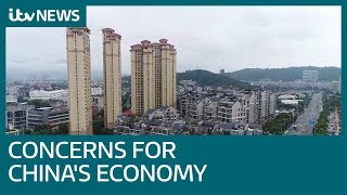 Concerns for Chinese economy ahead of Davos economic forum   ITV News