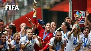 FINAL HIGHLIGHTS: USA v. Japan - FIFA Women's World Cup 2015(Canada 2015: An eruption of goals between the United States and Japanese made for a very entertaining Women's World Cup Final. FIFA Women's World Cup ..., 2015-07-06T01:48:45.000Z)
