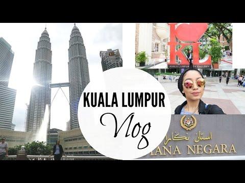 HOP-ON-HOP OFF CITY TOUR | KUALA LUMPUR VLOG 2016