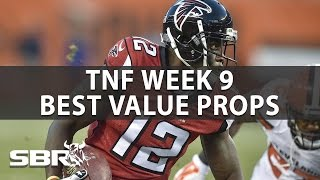 TNF Prop Betting Picks: Falcons vs. Bucs | NFL Week 9