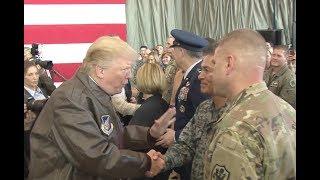 Trump Meets Troops After Yokota AFB Speech In Japan