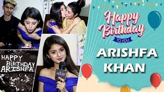 Arishfa Khan Celebrates Her Birthday (2019) With Family & Friends| Telly Reporter Exclusive