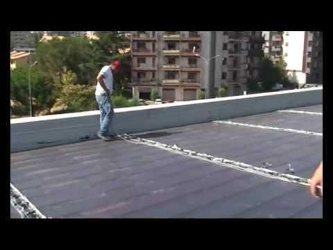 Tegola traditional video di posa doovi for Piani tetto shed