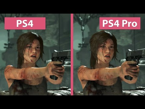 Rise of the Tomb Raider – PS4 Pro 1080p Enhanced Visuals vs. PS4 Graphics Comparison
