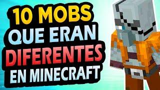 ✅ 10 Mobs Antiguos de Minecraft!! #2