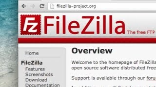 How to use FileZilla FTP Client - Tutorial