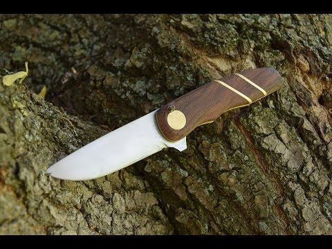KNIFE MAKING - Folding knife