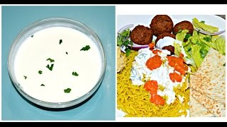 NEW YORK HALAL Cart White Sauce  New York Halal Cart Recipe - White Sauce