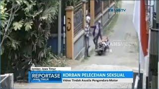 Pelecehan Seksual di Gang Sempit, Terekam CCTV