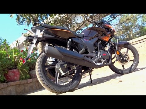 Hero Hunk First Ride Review Walkaround 2017 Bikes Dinos Youtube