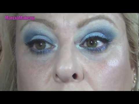 Tutorial Smoky Eyes Blue