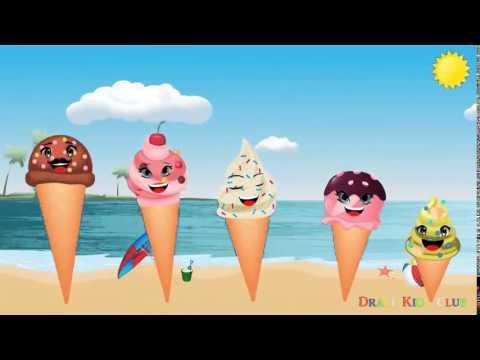 Finger Family Collection | 7 Ice Cream Finger Family Songs for Children | Nursery Rhymes Songs