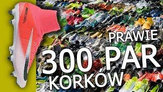 Kolekcja prawie 300 par korków! Największa w Polsce! Nike, adidas, Puma...