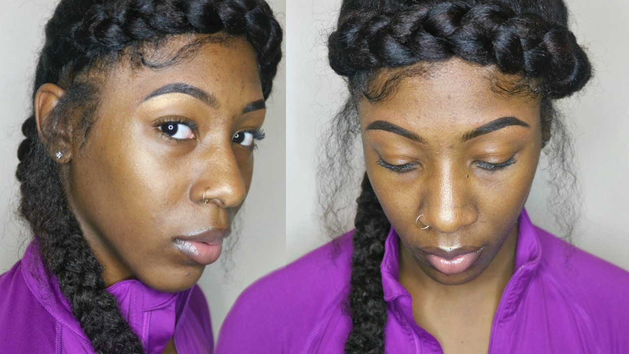 extended halo braid natural