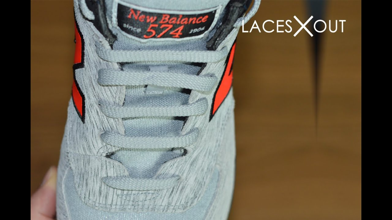 new balance laces too long
