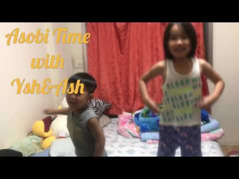 Asobi Time with Ysh&Ash-Ysh and Ash singing and dancing Team Yey!