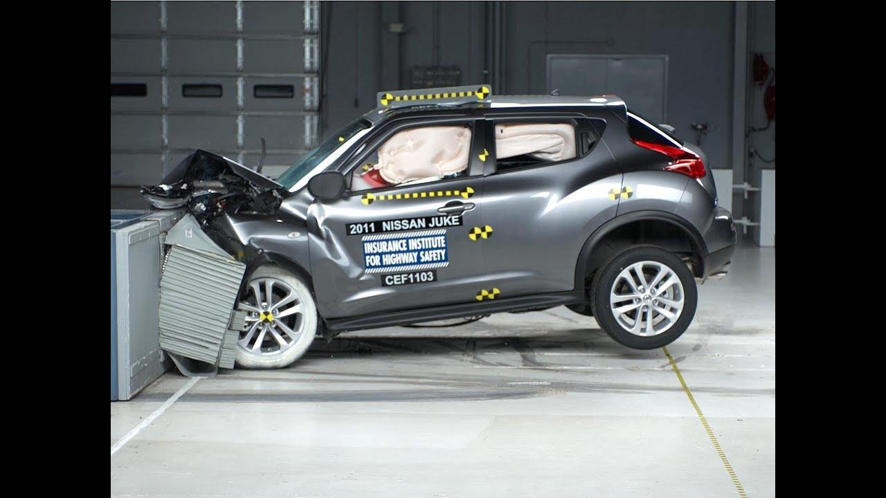 Attractive 2011 Nissan Juke Moderate Overlap IIHS Crash Test