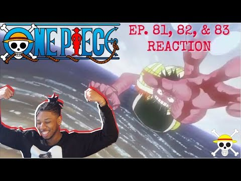 Download LUFFY IS A MF MONSTER! 🤯/ ONE PIECE EP. 81, 82, & 83 - REACTION