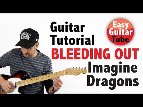 Bleeding Out - Imagine Dragons (Easy Guitar Tutorial for beginners with TABS/Chords)