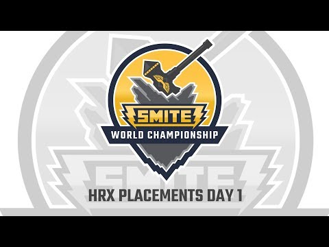 HRX Placement Round: NoPing E-Sports vs. SK Gaming (Game 1)