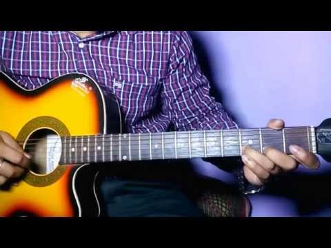 Jingle Bell Guitar Lesson | Christmas Song Tutorial | VGuitarLearning