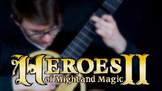 Heroes of Might and Magic II - Magnificent Field (Grass Theme) - Classical Guitar Cover