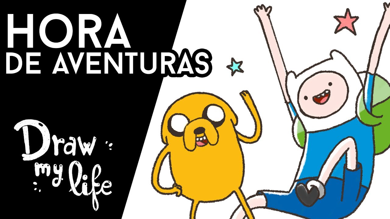 HORA DE AVENTURAS  - Draw My Life